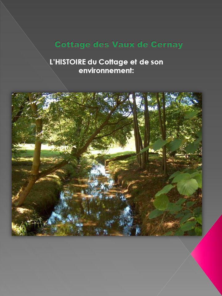 LHISTOIRE du Cottage et de son environnement: