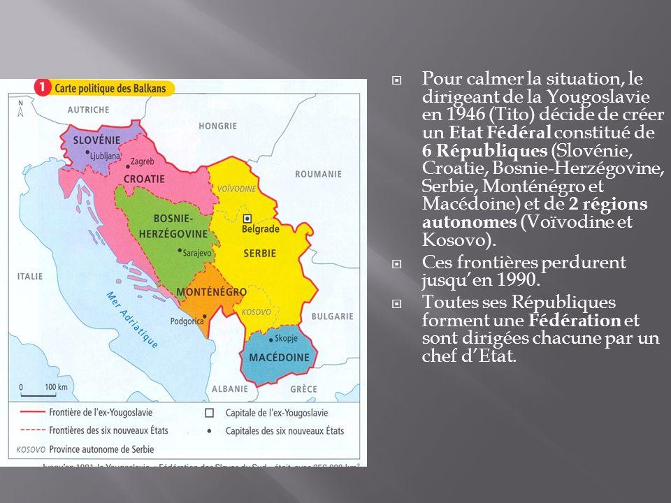 Au Kosovo, les Serbes sont minoritaires : 10% de la population contre 85% dAlbanais et 5% mixtes.