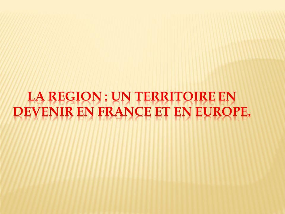 A. LA SINGULARITE DE LA REGION LANGUEDOC ROUSSILLON.