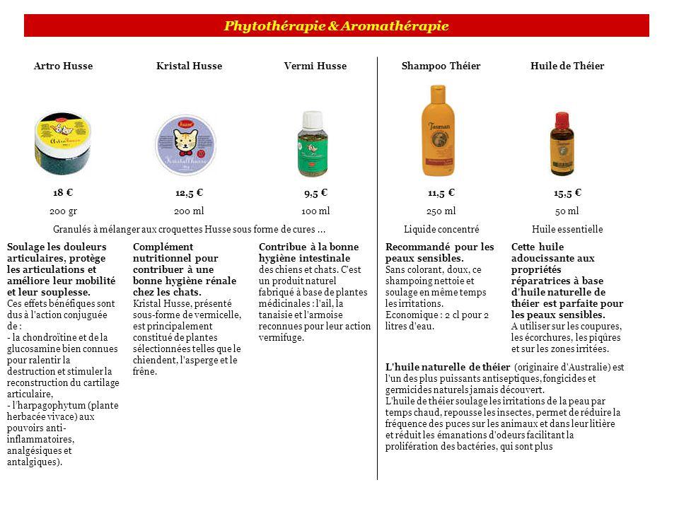 Phytothérapie & Aromathérapie Artro HusseKristal HusseVermi HusseShampoo ThéierHuile de Théier 18 12,5 9,5 11,5 15,5 200 gr200 ml100 ml250 ml50 ml Gra