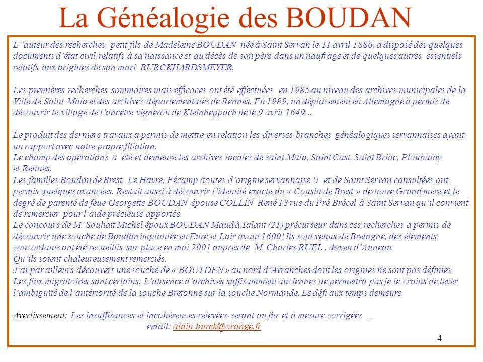 16/01/2014 I La Généalogie des Boudan Novembre 2010