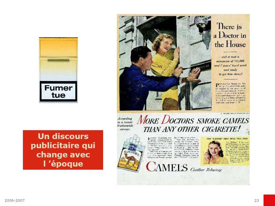 2006-200722 La publicité, reflet de la société ou agitateur des mentalités