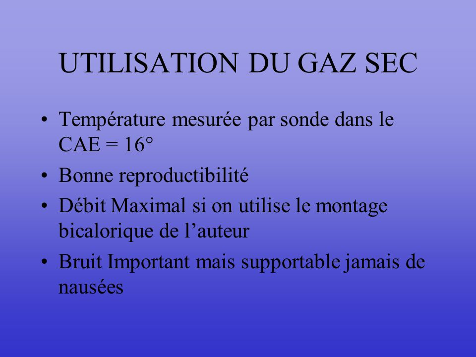 SEQUENCE DF Calibration : 20 secondes Poursuite : 20 secondes Saccades : 40 secondes Pendulaire : 20 secondes Positionnel : 5x20 secondes = 100 s Bilat : 90 secondes TOTAL 290 secondes soit <5 Mn