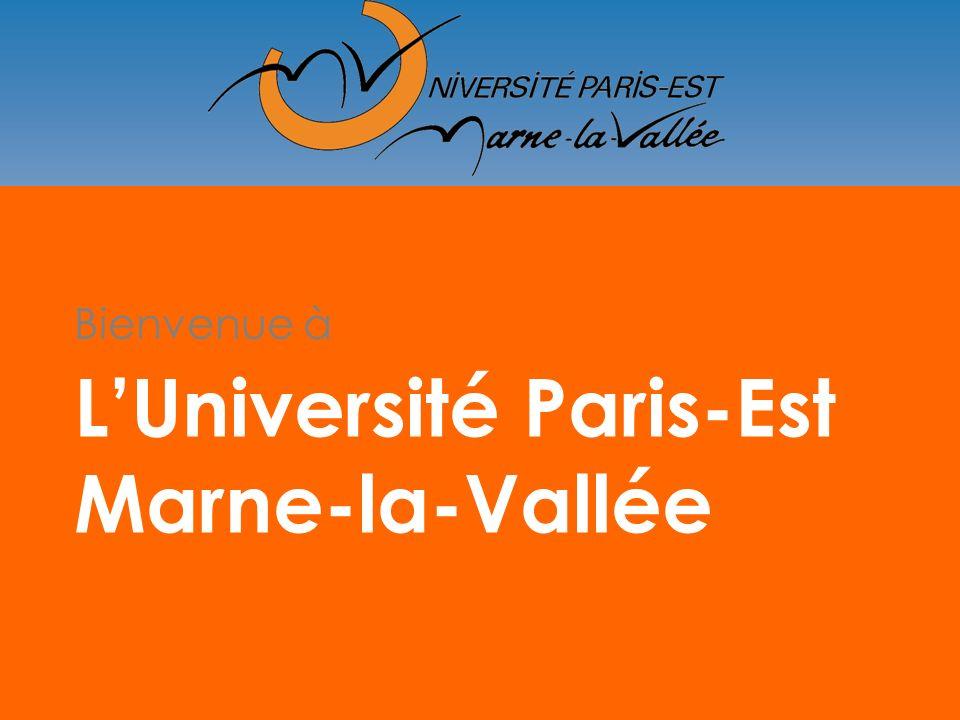 Université Paris-Est Marne-la-Vallée L1 Licence 1 L2 Licence 2 L3 Professionnelle L3 Générale MASTER 1 DOCTORAT insertion PRO insertion PRO MASTER 2 PROFESSIONNEL RECHERCHE