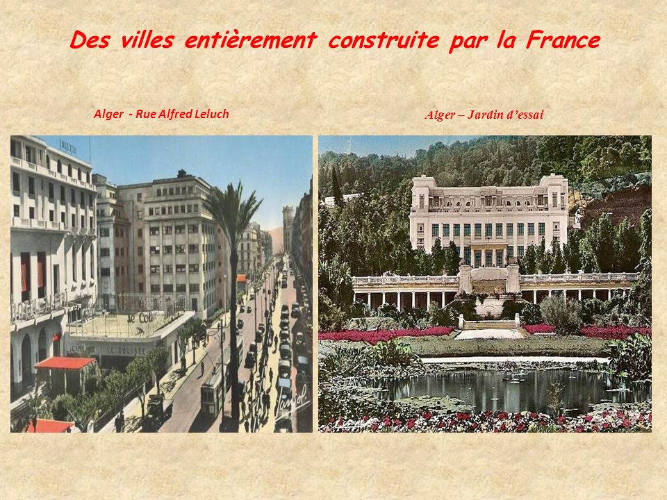 L Enseignement Citations: « S il est, en Algérie, un domaine où l effort de la France ne se discute pas, c est bien celui de l enseignement.