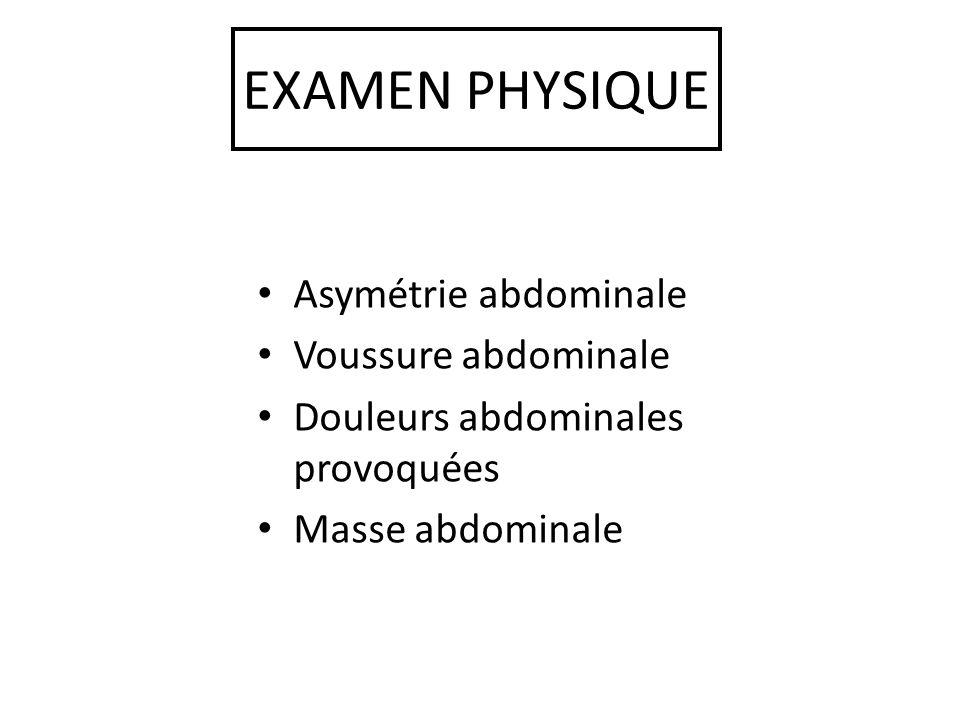 EXPLORATIONS RADIOLOGIQUES ASP Transit du grêle – Image de soustraction Scanner abdomino-pelvien – Masse intestinale Entéro-scanner ++++ IRM