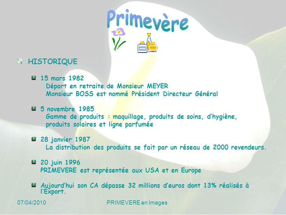 07/04/2010 PRIMEVERE en Images Service Commercial