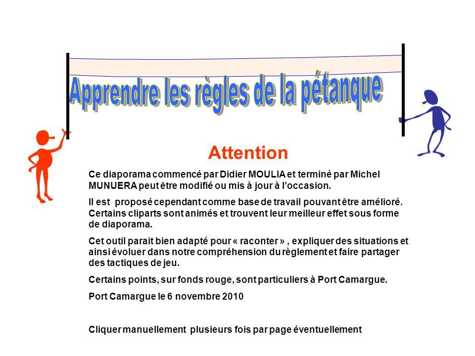Attention Ce diaporama commencé par Didier MOULIA et terminé par Michel MUNUERA peut être modifié ou mis à jour à loccasion. Il est proposé cependant