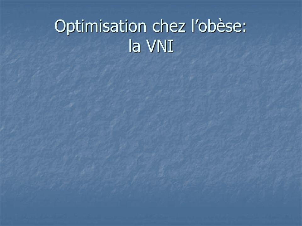 Optimisation chez lobèse: la VNI