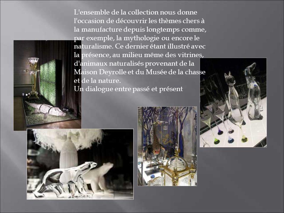 L'ensemble de la collection nous donne l'occasion de découvrir les thèmes chers à la manufacture depuis longtemps comme, par exemple, la mythologie ou