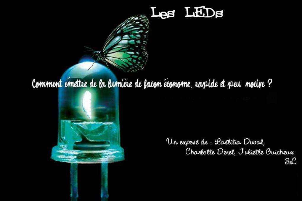 Introduction LED ou DEL (Diode Emitting Light) ou littérairement : Diode à Emission de Lumière.