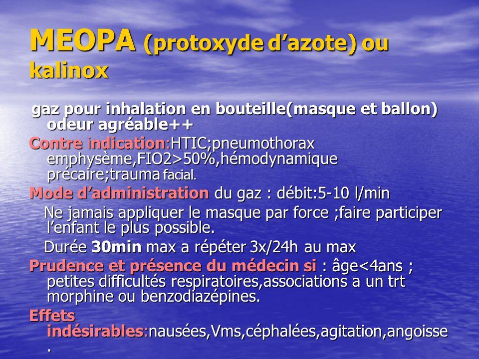 MEOPA (protoxyde dazote) ou kalinox gaz pour inhalation en bouteille(masque et ballon) odeur agréable++ gaz pour inhalation en bouteille(masque et bal
