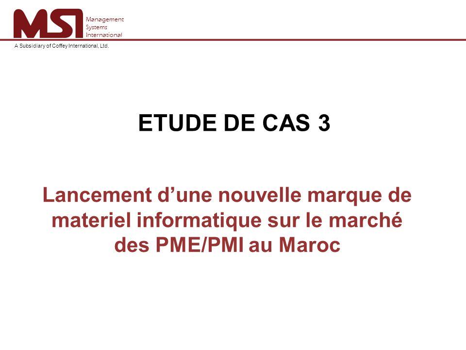 Aperçu du marché La définition des PME/PMI au Maroc.