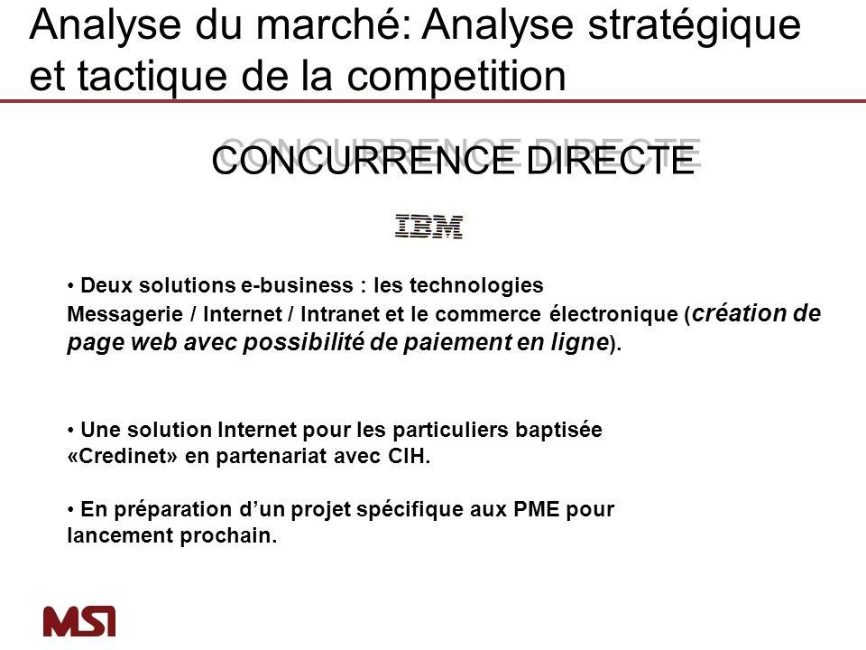 Deux solutions e-business : les technologies Messagerie / Internet / Intranet et le commerce électronique ( création de page web avec possibilité de p