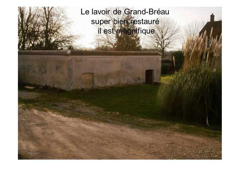 Le lavoir de Grand-Bréau super bien restauré il est magnifique