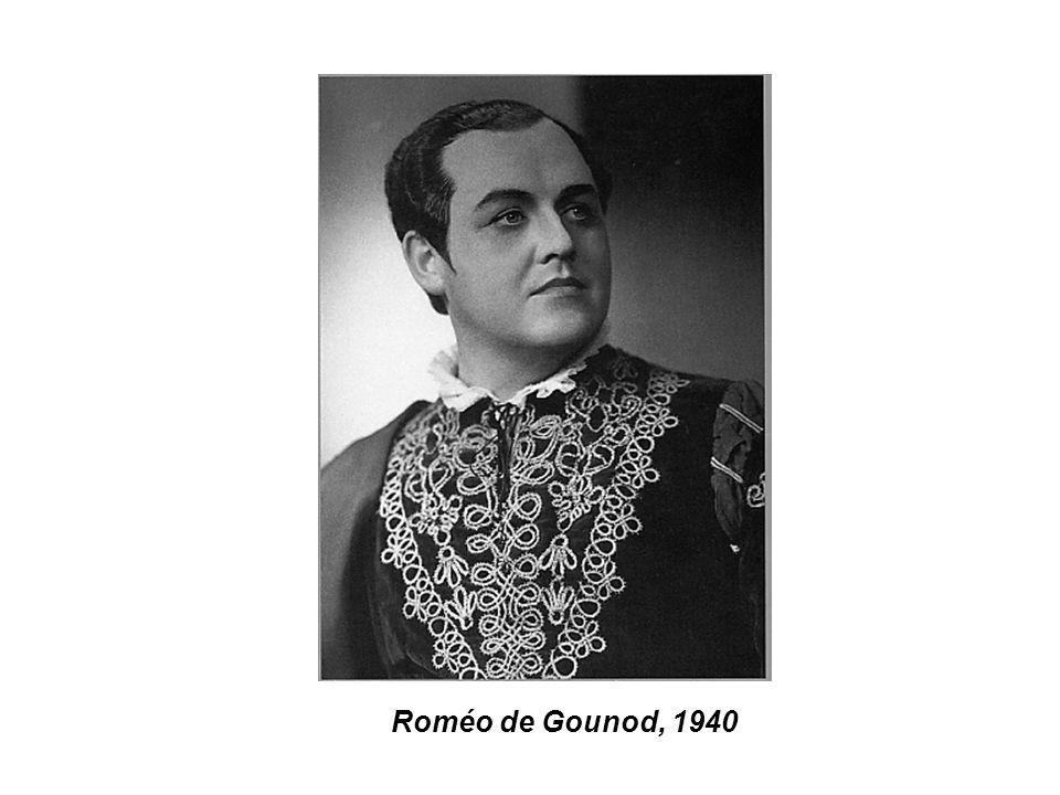 Roméo de Gounod, 1940