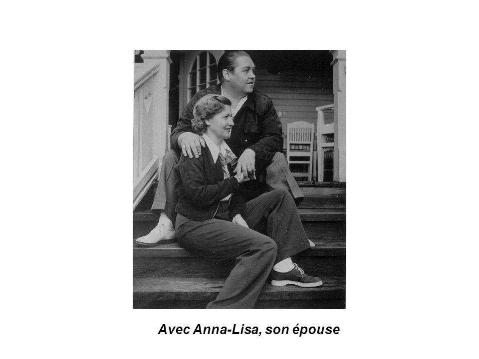 Avec Anna-Lisa, son épouse