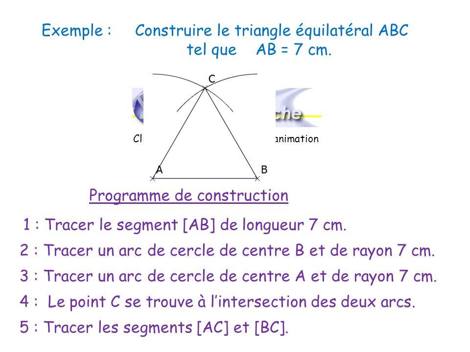 c) Triangle rectangle Un triangle rectangle possède un angle droit.