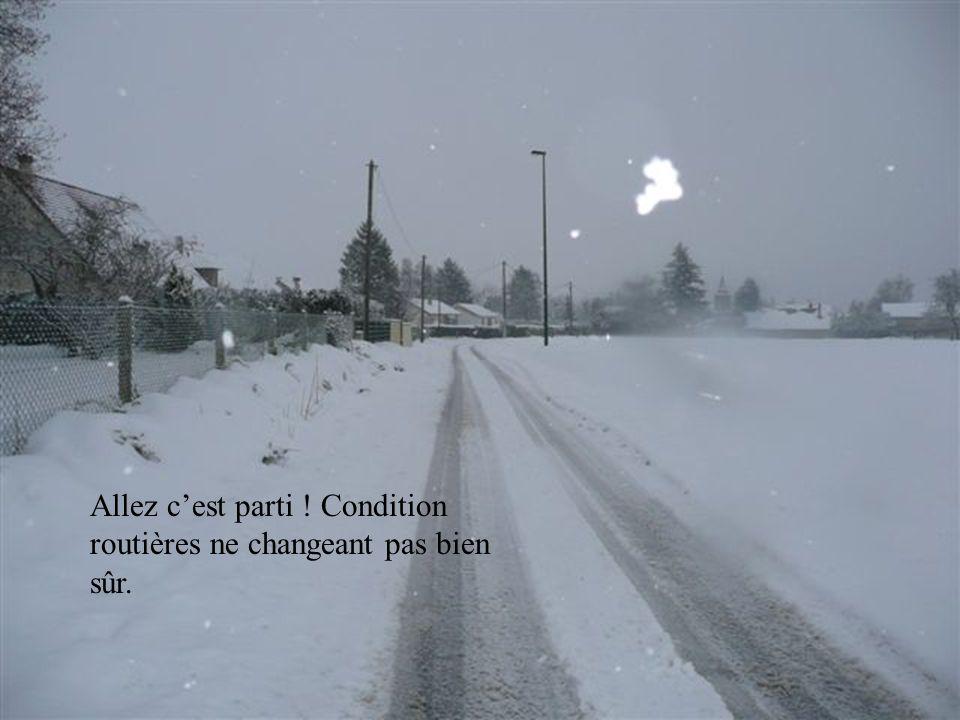 Assez fatiguant de déneiger 20 à 30cm de glace et de neige 2 fois dans un même épisode.