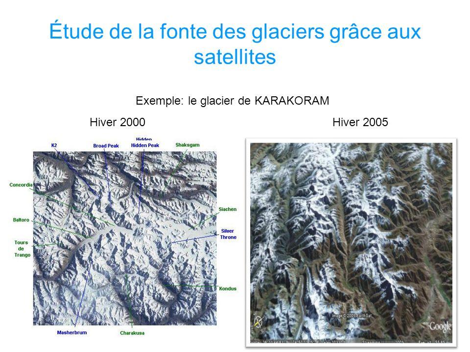 Ci –dessous, la disparition du glacier de St Sorlin est simulée grâce à des bilans faits grâce a lobservation satellitaire.