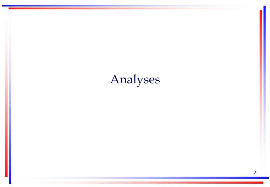 2 Analyses