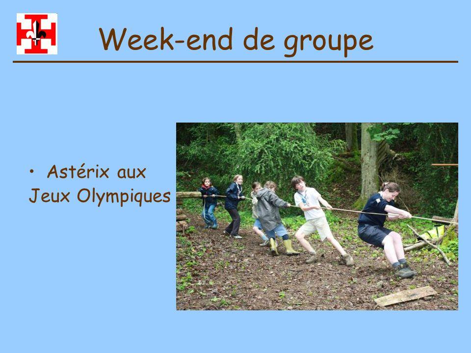 Camp de Guides Equipe des Castors avec la Compagnie Sainte Clotilde de Chalon Juillet 2010