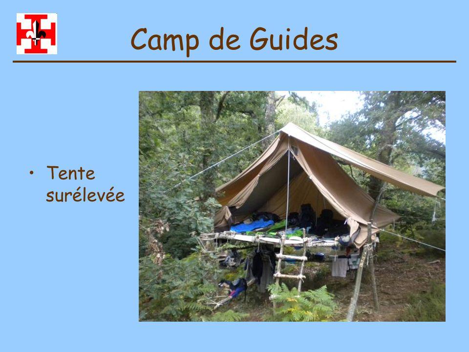 Camp de Guides Exploration de compagnie en radeau