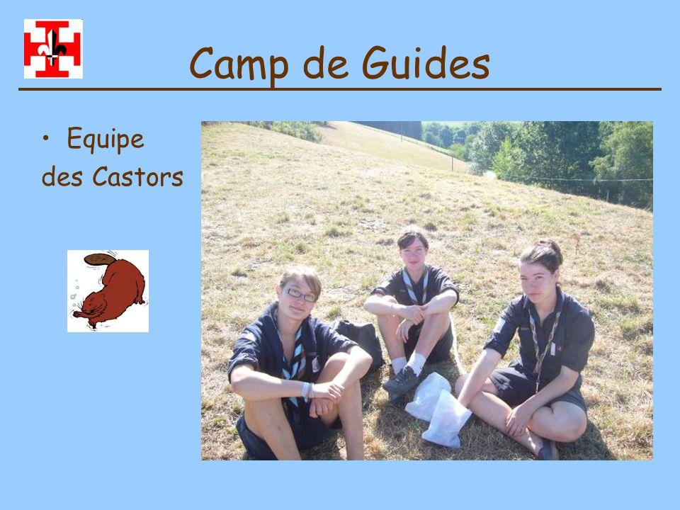 Camp de Jeannettes Juillet 2010