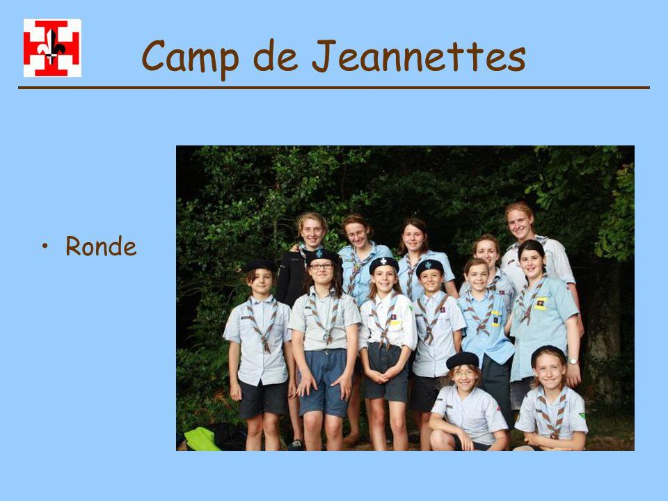 Camp de Jeannettes Lieu de camp