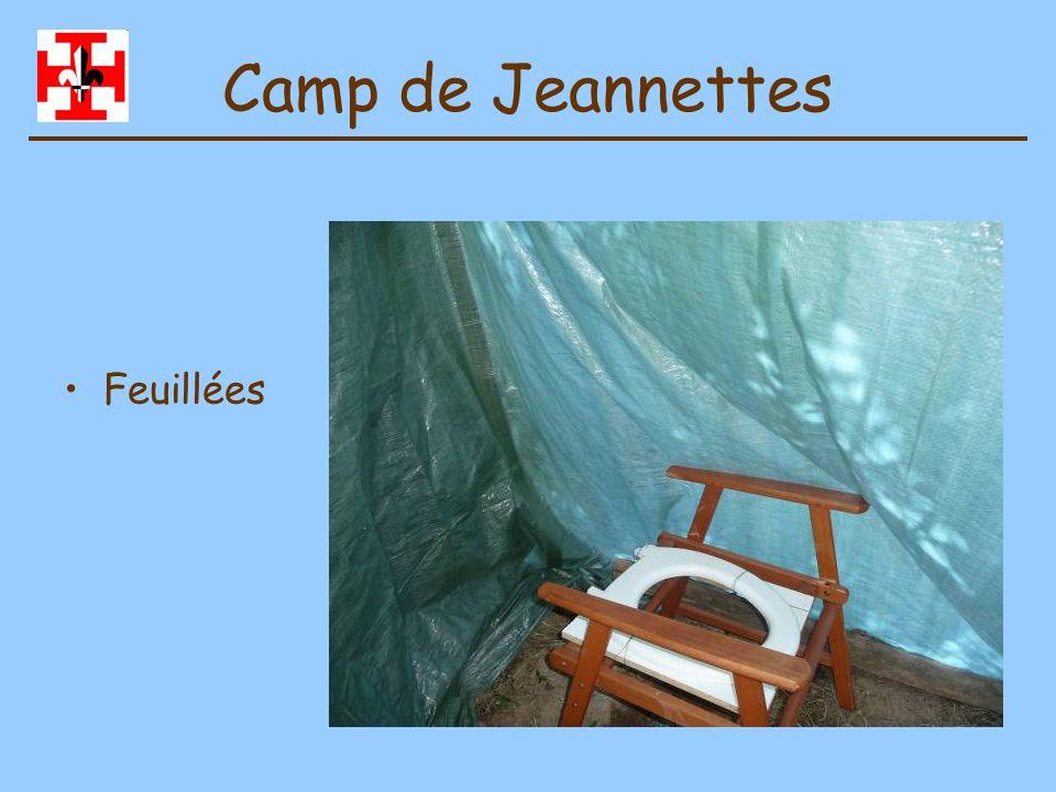 Camp de Jeannettes Coin vaisselle