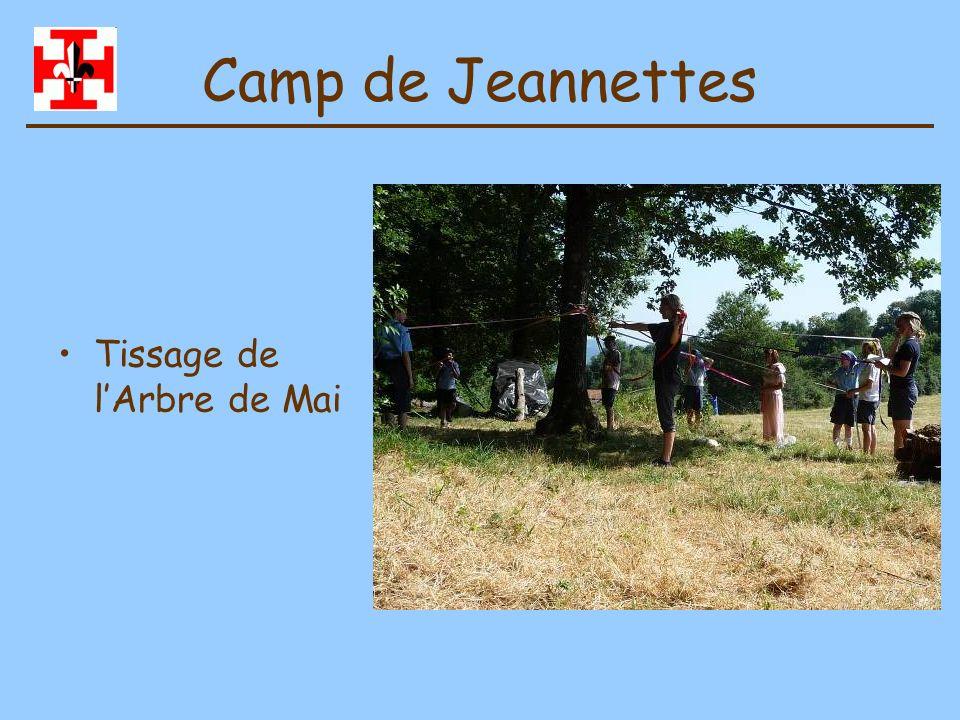 Camp de Jeannettes Préparation du repas