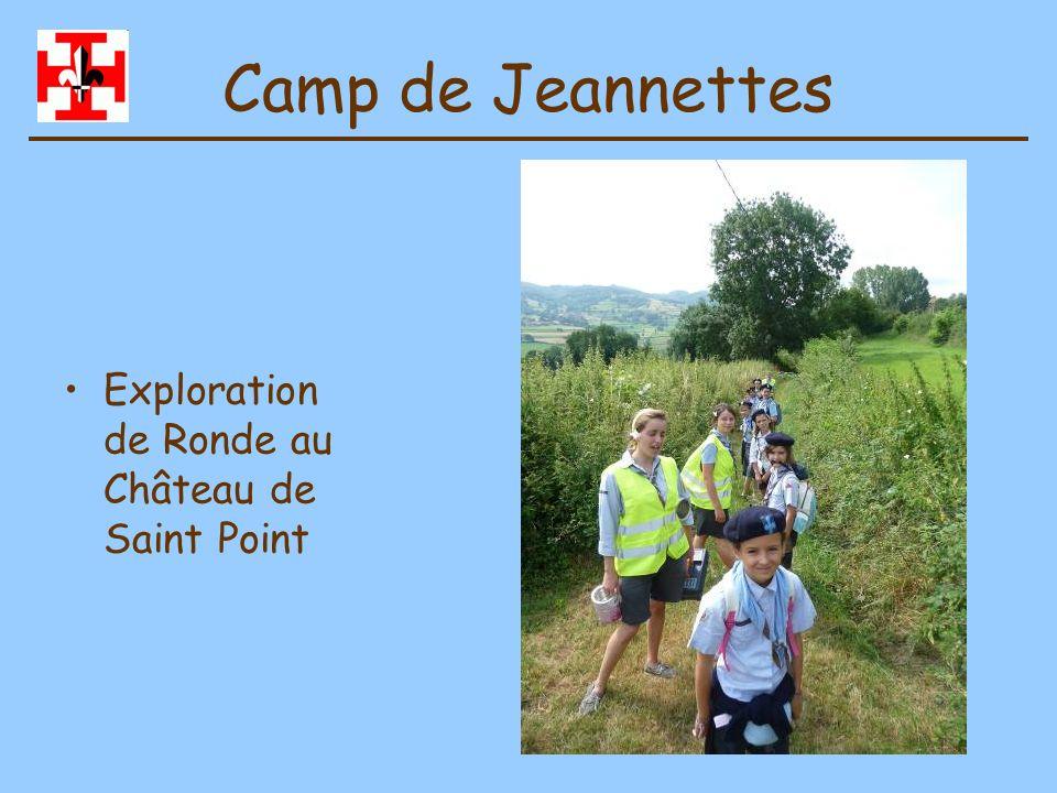 Camp de Jeannettes Douche