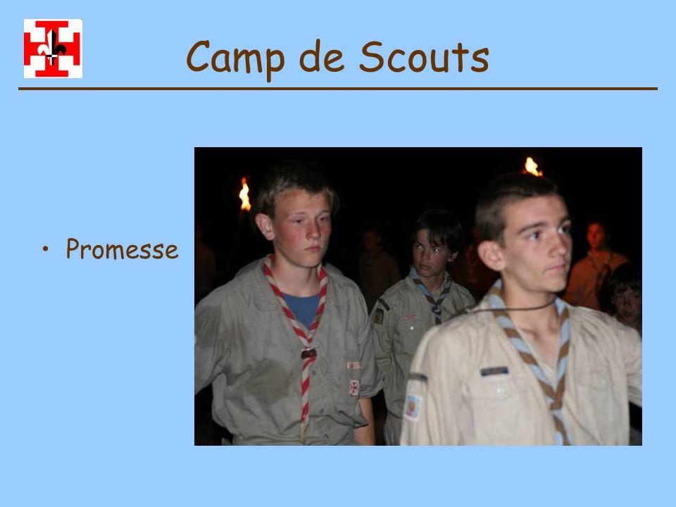Camp de Scouts Jeux divers