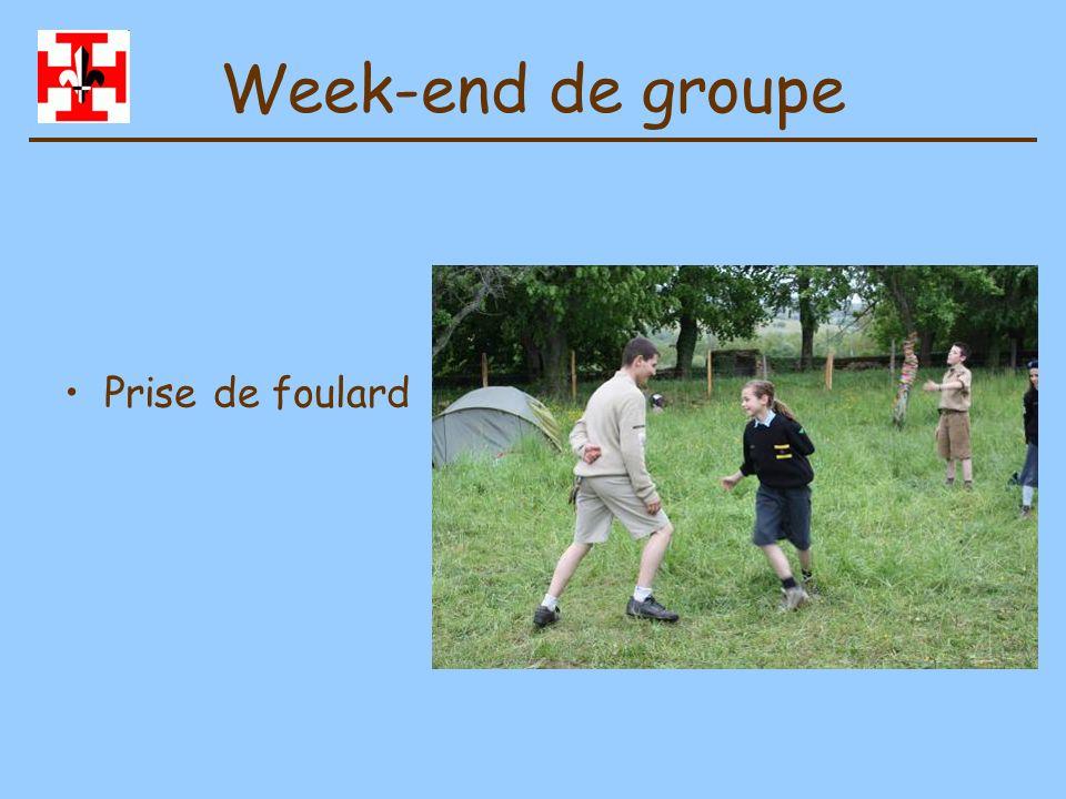 Week-end de groupe Veillée