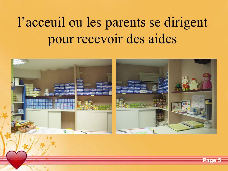 Free Powerpoint TemplatesPage 5 lacceuil ou les parents se dirigent pour recevoir des aides