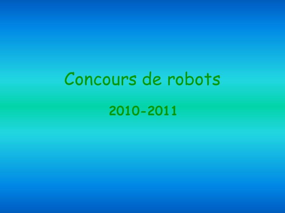 Concours de robots 2010-2011