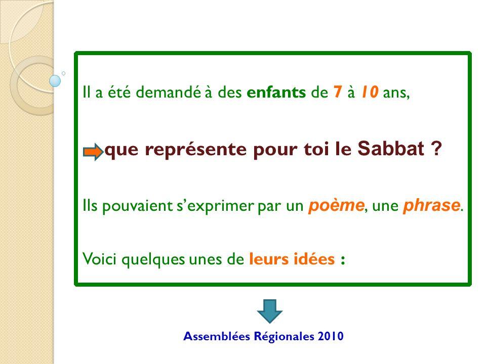 Le Sabbat cest un jour : de Fête de Joie de Bonté de Prière de Louange d Adoration d Etude de la Bible