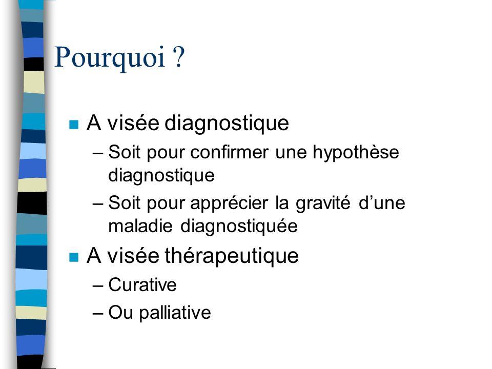 Fibroscopie bronchique n Tumeur obstruant une bronche du culmen