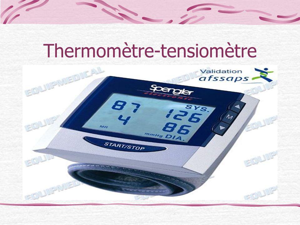 Thermomètre-tensiomètre