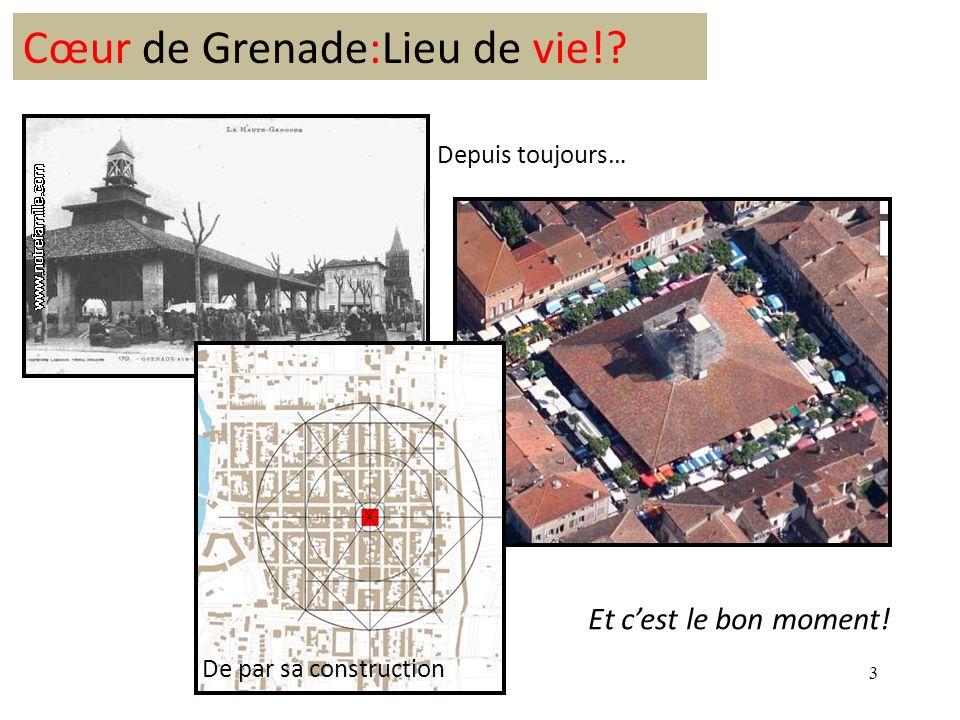 3 Cœur de Grenade:Lieu de vie! De par sa construction Depuis toujours… Et cest le bon moment!