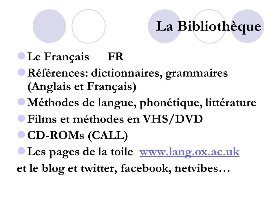 La Bibliothèque Modern French grammar: a practical guide, 2 nd edition FR REF GRAM LANG