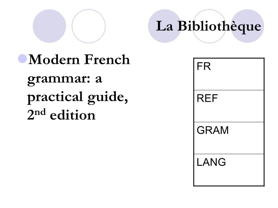La Bibliothèque Alter Ego 4 2 nd partie des livres lettre A FR CHP 1-3