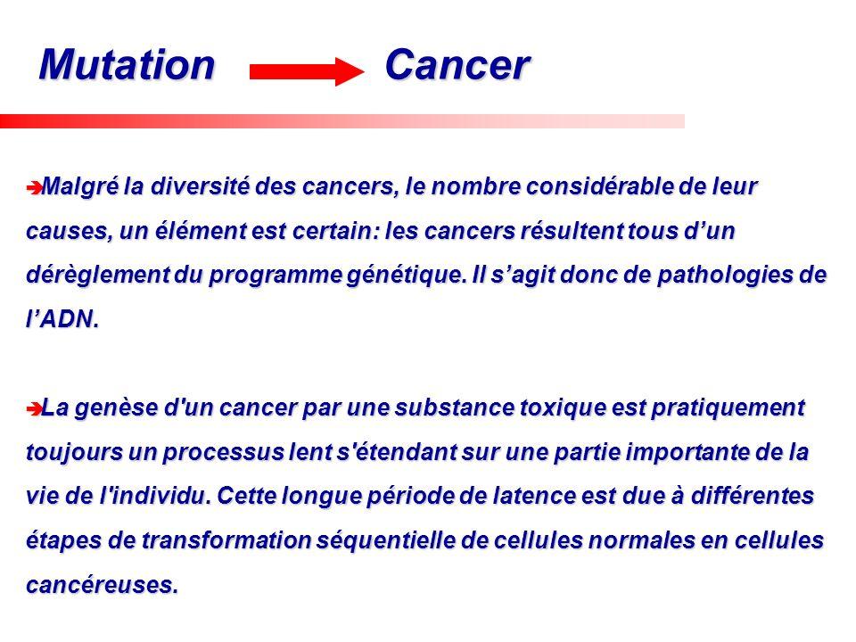 Malgré la diversité des cancers, le nombre considérable de leur causes, un élément est certain: les cancers résultent tous dun dérèglement du programm