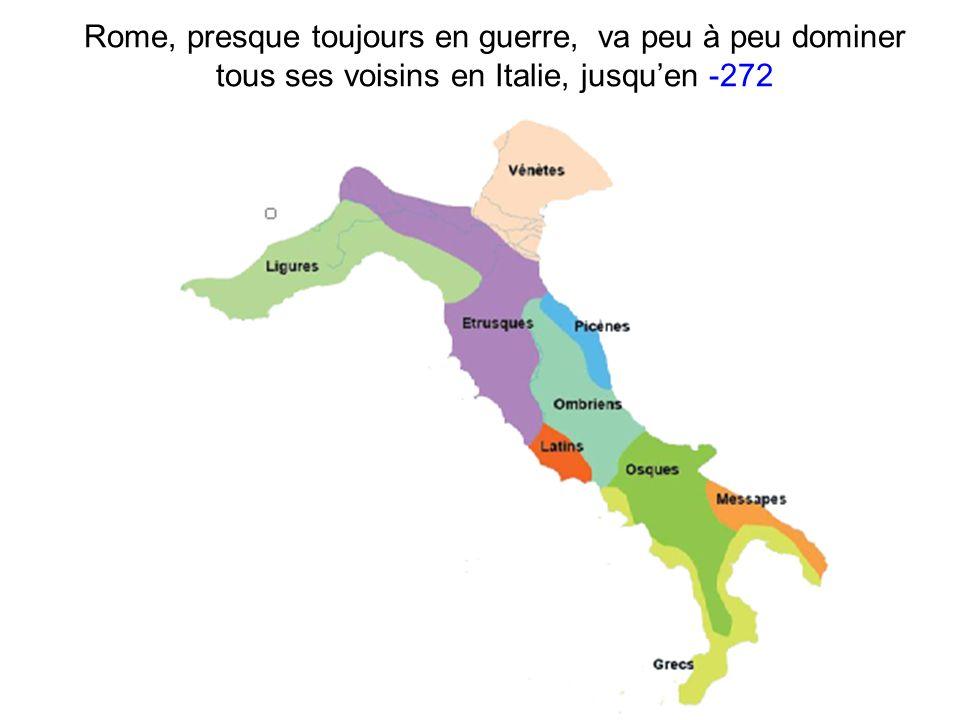 Puis se heurter à la puissance martime de Carthage à partir de -264 Ci-dessus : le port de Carthage (reconstitution) et l empire commercial de cette cité en Méditerranée occidentale