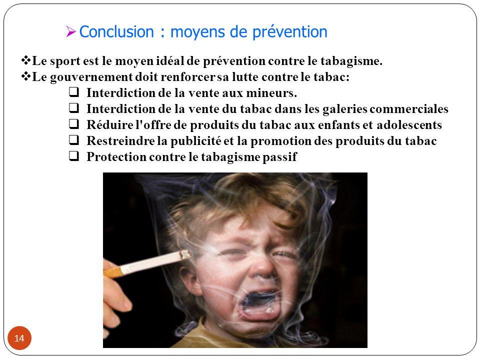 Lutte Contre le Tabagisme sa Lutte Contre le Tabac