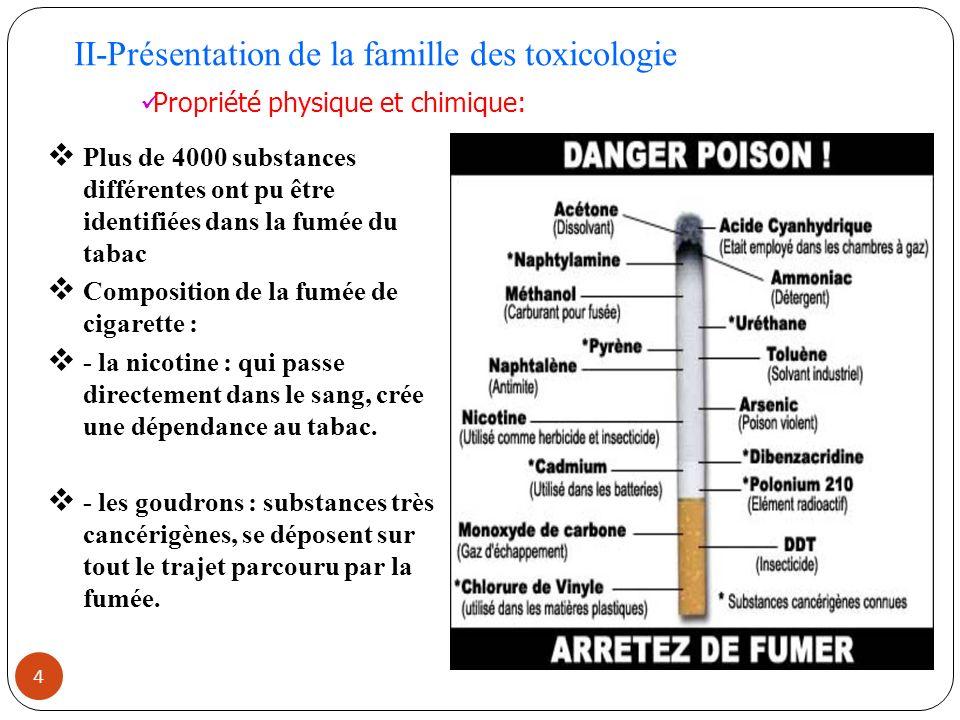 5 Le monoxyde de carbone : prends la place du dioxygène dans le sang et limite les performances physiques.