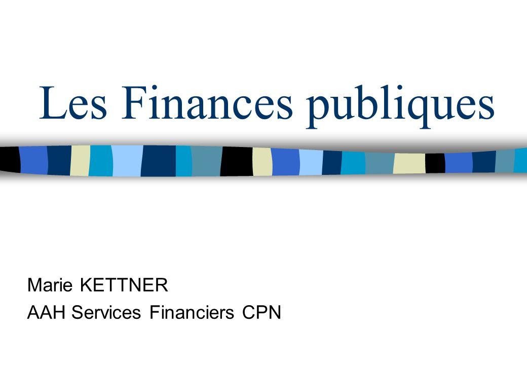 FINANCES PUBLIQUES Les finances publiques sont couramment définies comme létude des ressources, des charges et des comptes des collectivités publiques Domaine comprenant : - lÉtat - divers organismes dadministration centrale - les administrations de sécurité sociale - les administrations publiques locales - le prélèvement au profit de lUnion Européenne