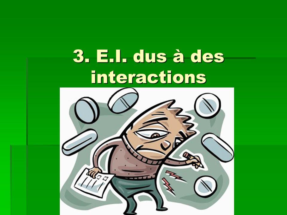 III. CARACTÉRISTIQUES DES EFFETS INDÉSIRABLES III. CARACTÉRISTIQUES DES EFFETS INDÉSIRABLES