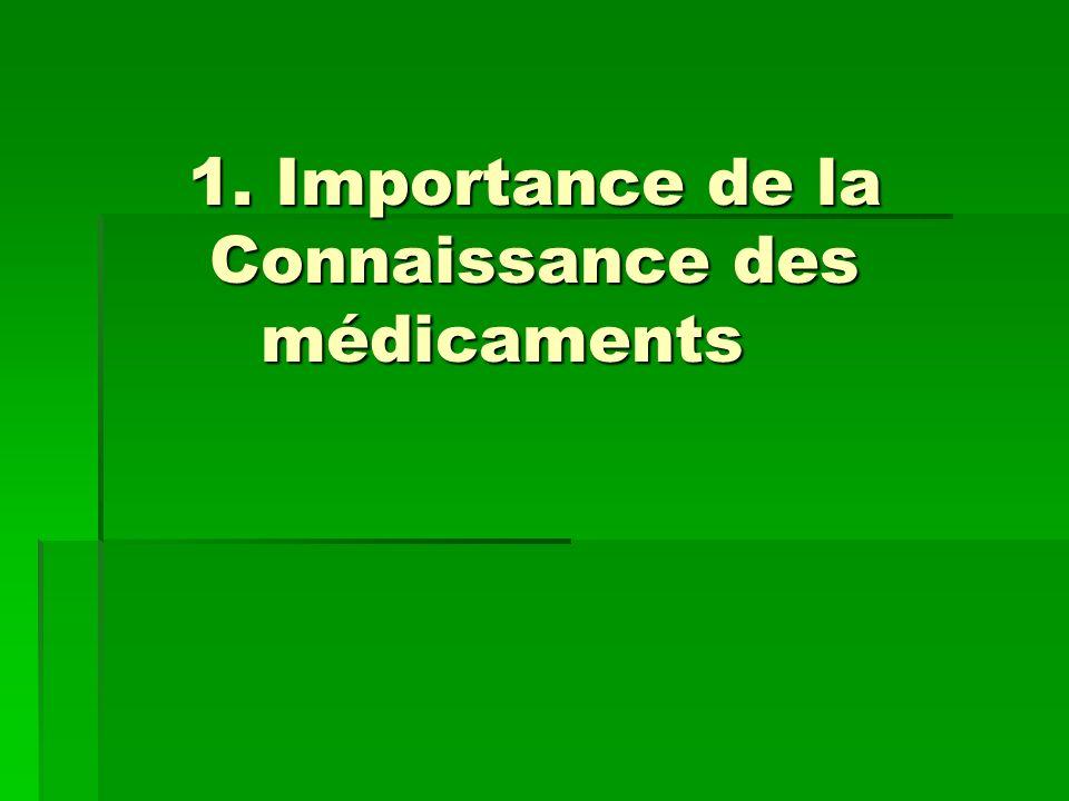 2. Importance de la connaissance du malade 2. Importance de la connaissance du malade