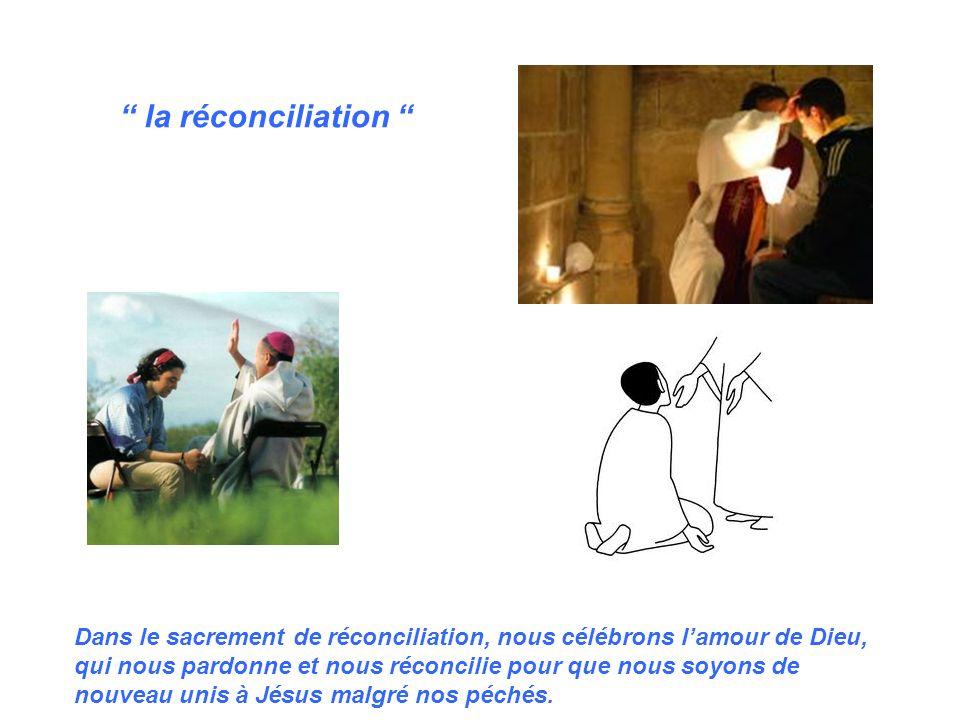 le sacrement des malades Dans le sacrement des malades, nous célébrons lamour de Dieu qui unit Jésus à un malade qui souffre et qui peut être va mourir